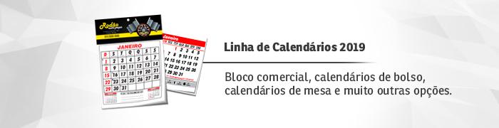 Calendários 2019