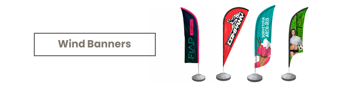 os produtos mais famosos que marcaram o ano. Wind Banners