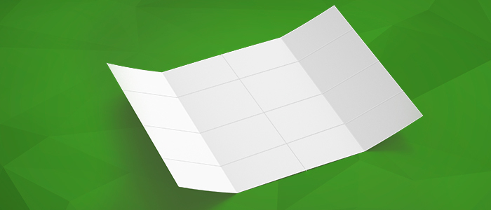 Acabamentos gráficos: Quais são os 4 tipos de dobras e como usá-los